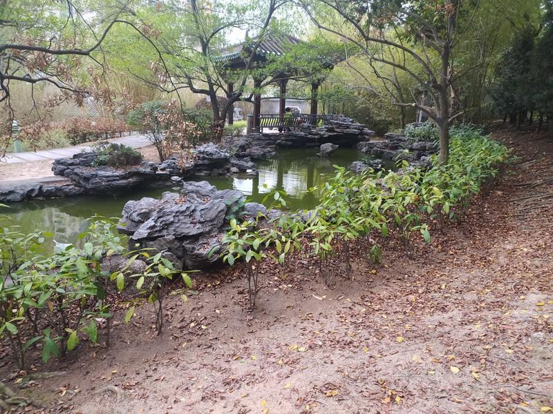 Pagoda and Stream.