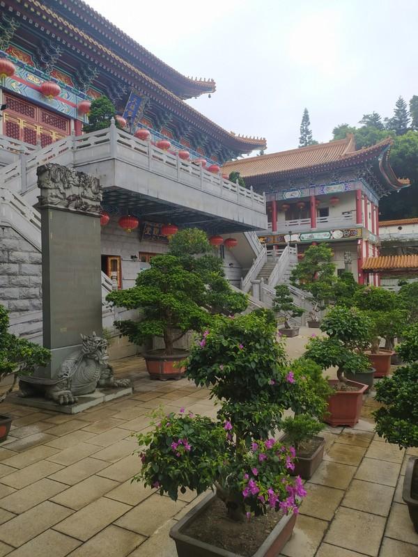 The inner monastery.