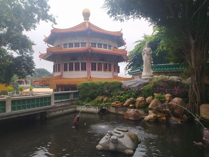 The Pagoda and Kuan Yin.