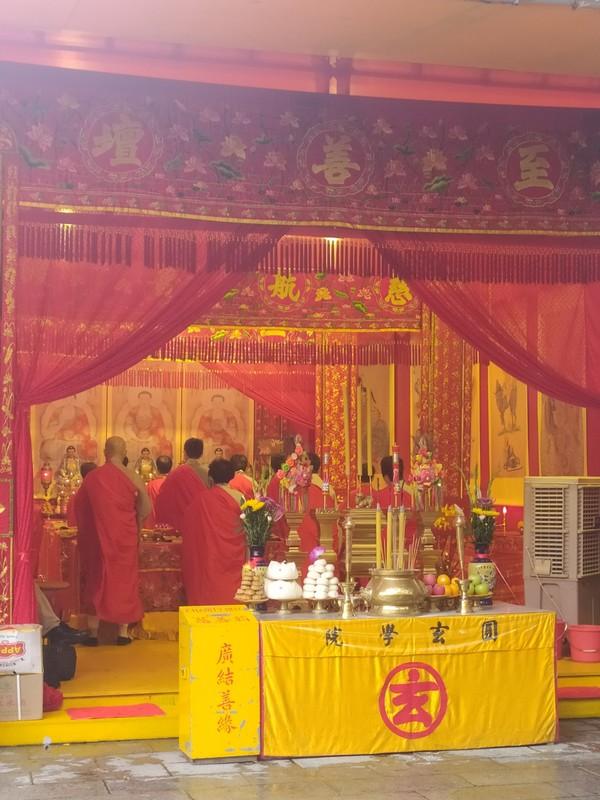 Chanting Monks.