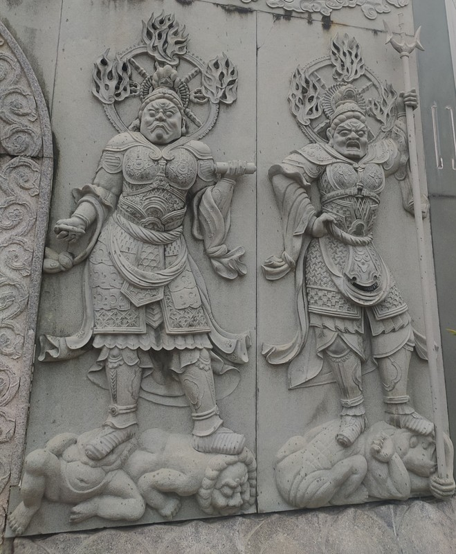 Bas Relief on the pagoda.