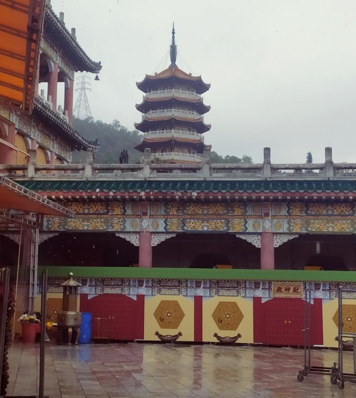 Looking towards Western Monastery Pagoda