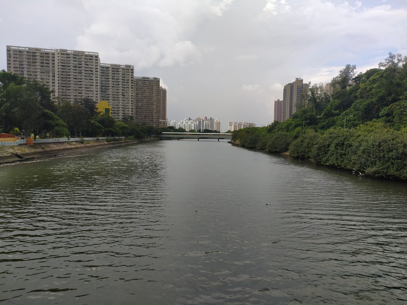 View from the other side of the bridge.
