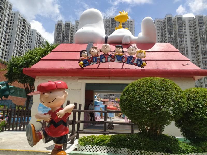 Snoopy's World.