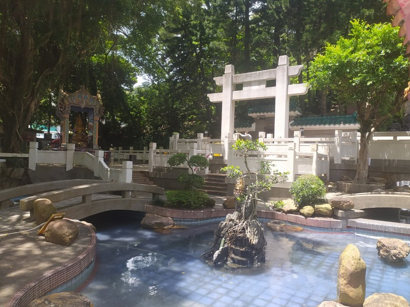 Tang Dynasty style garden.