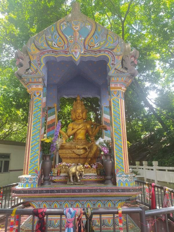 Shrine in the garden.
