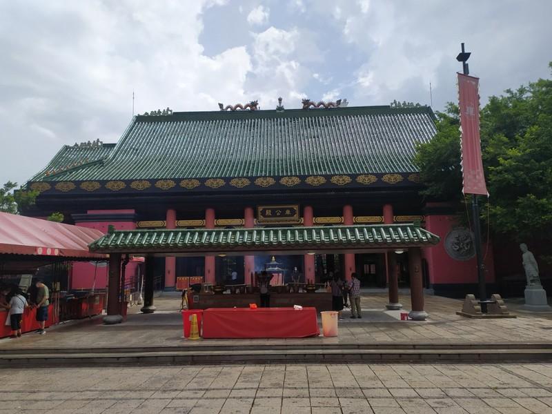 Main temple building.