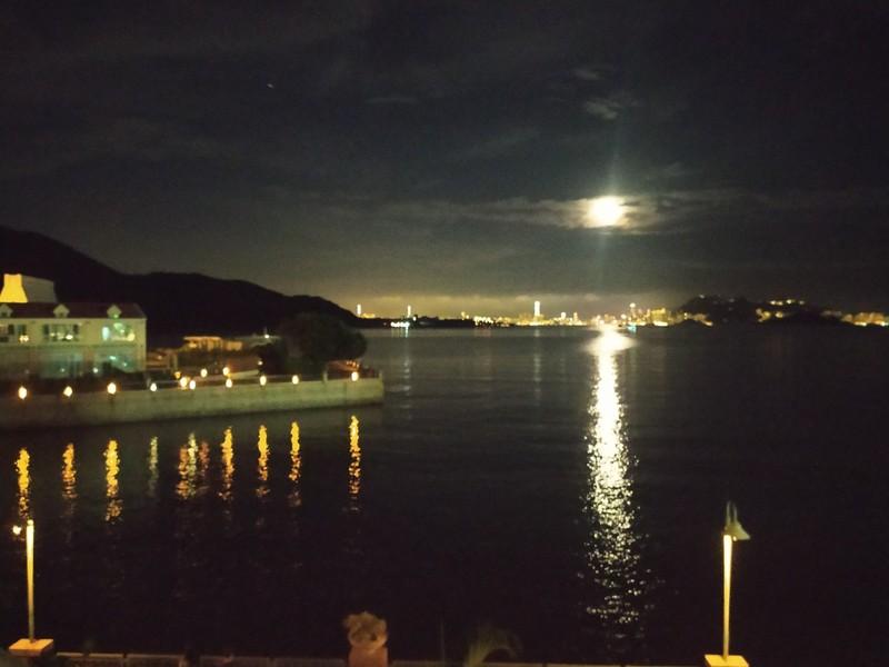 Moon Gazing.