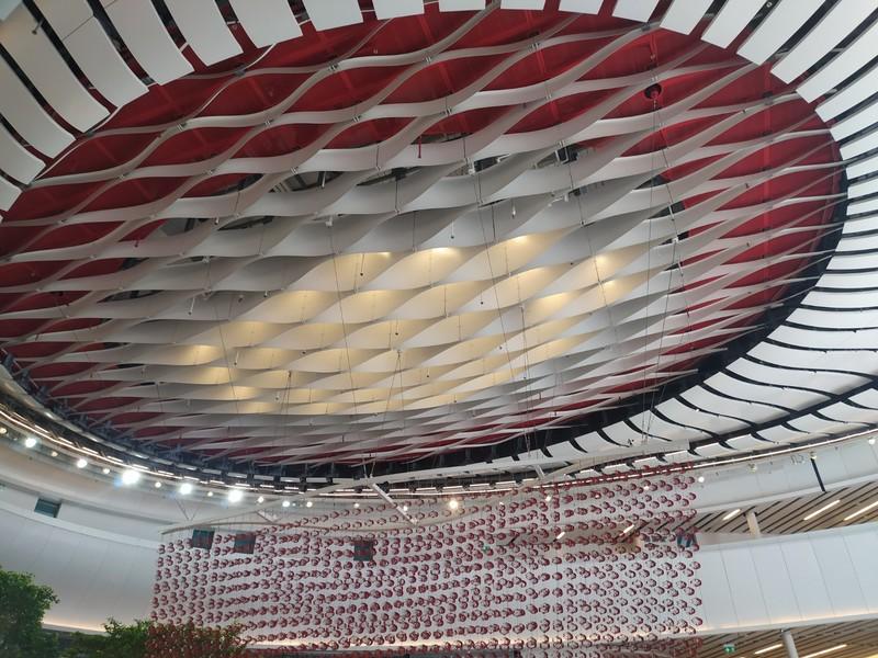 Inside the Xiqu Centre.