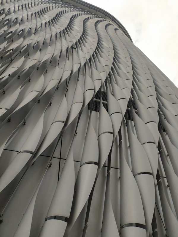 Beautiful Walls of the Xiqu Centre.