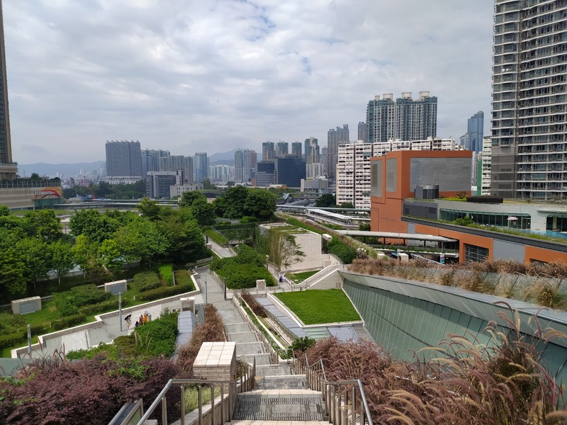 Looking over Kowloon from the Viewing Point.