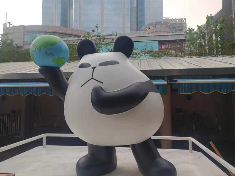 Cartoon Panda. It's called panda-a-panda.