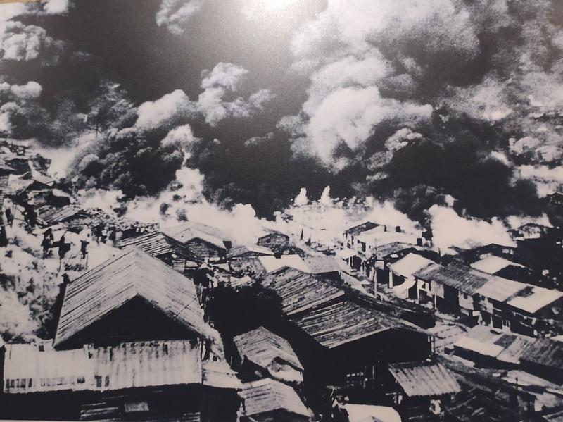 Photo of the great fire of Shek Kip Mei.