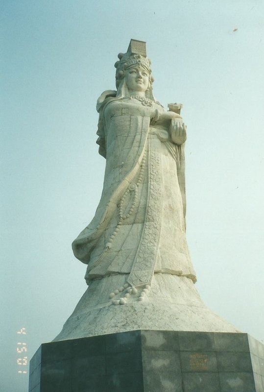 The statue of A Ma.