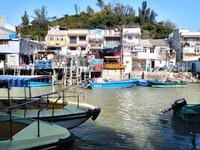 Stilt Houses, Tai O, Hong Kong.
