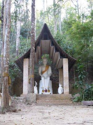 Buddha image at Wat Pha Lat