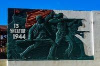 War memorial in Berat - Albania