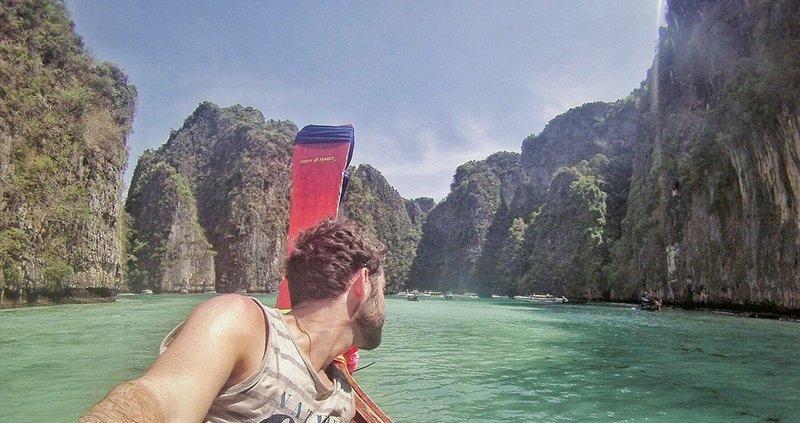 PiLeh Bay - Koh Phi Phi, Thailand - April 2015