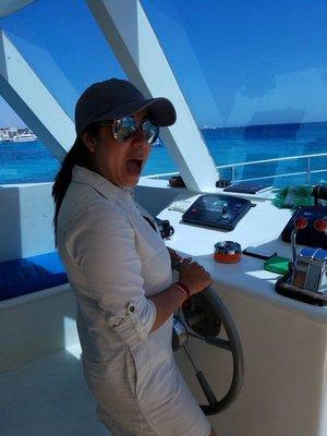 New boat captain :P