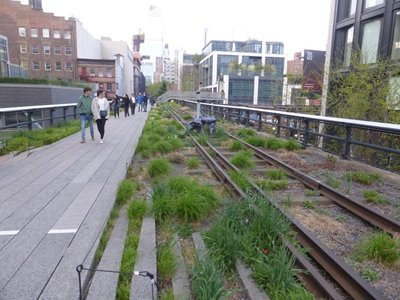 The High Line: evening