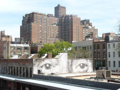 The High Line: view at the end of the track