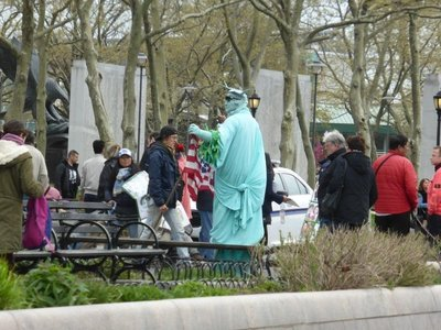 Fake Liberty Statue