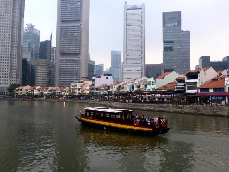 Boat Quay, full view