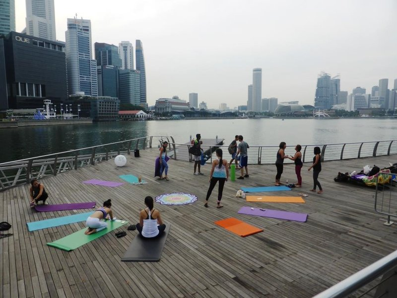 Yoga as an alternative to gambling