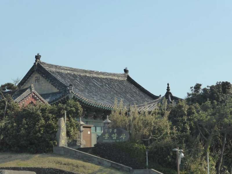 small temple next to Seongsan