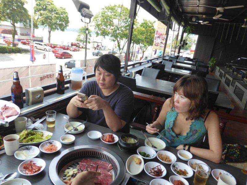 Korean BBQ at 1/3 of the Singapore price