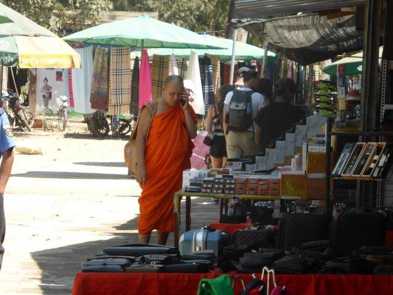 monk multitasking