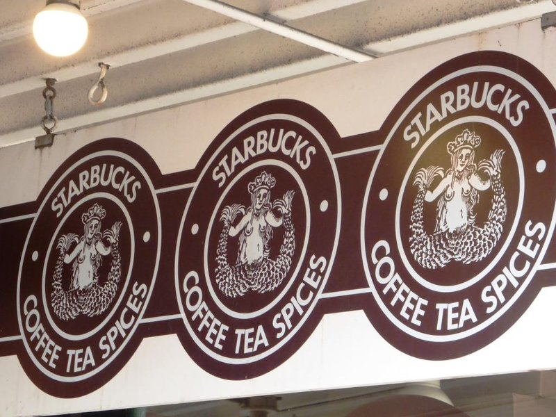 The first Starbucks, born in 1971