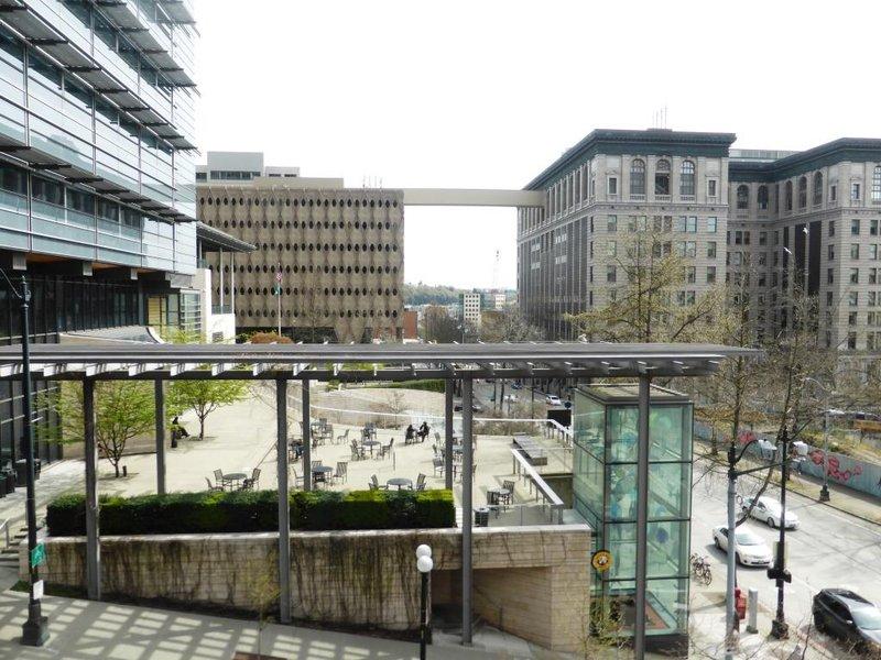 modern downtown Seattle
