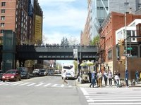 The High Line: seen from the street