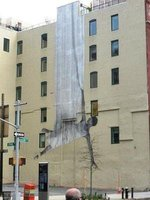 wall painting in Tribeca