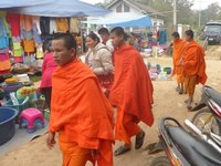 monks to add colour