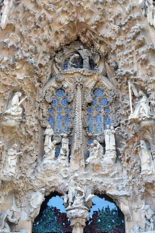 Nativity wall entrance