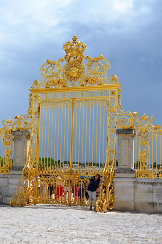 Entrance to Versaille