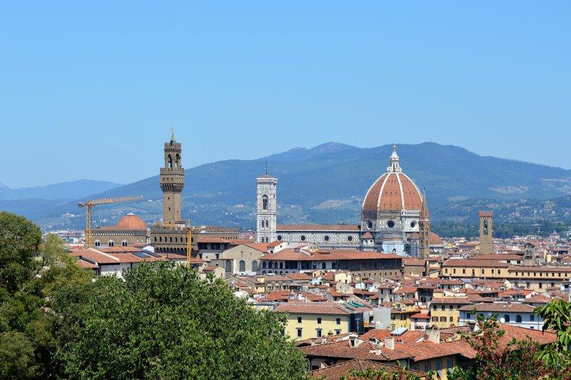 Giardino Bardini: Torre di Arnolfo Duomo