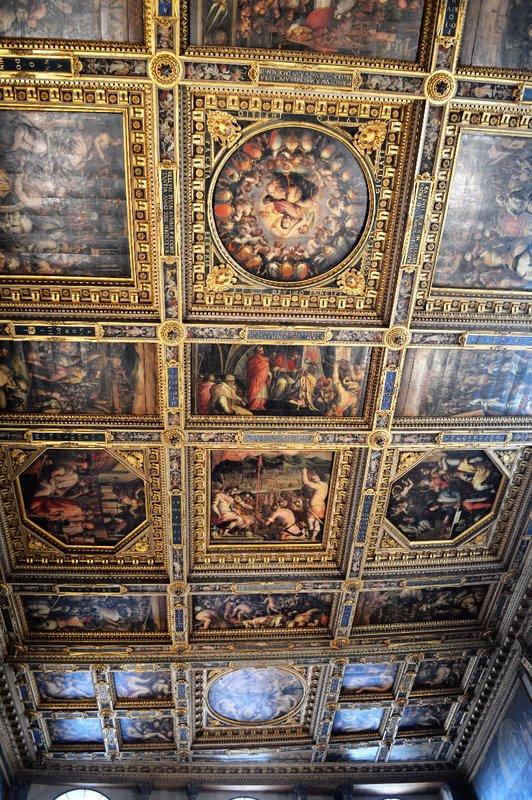 Salone dei Cinquecento ceiling
