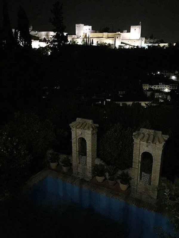 View at night