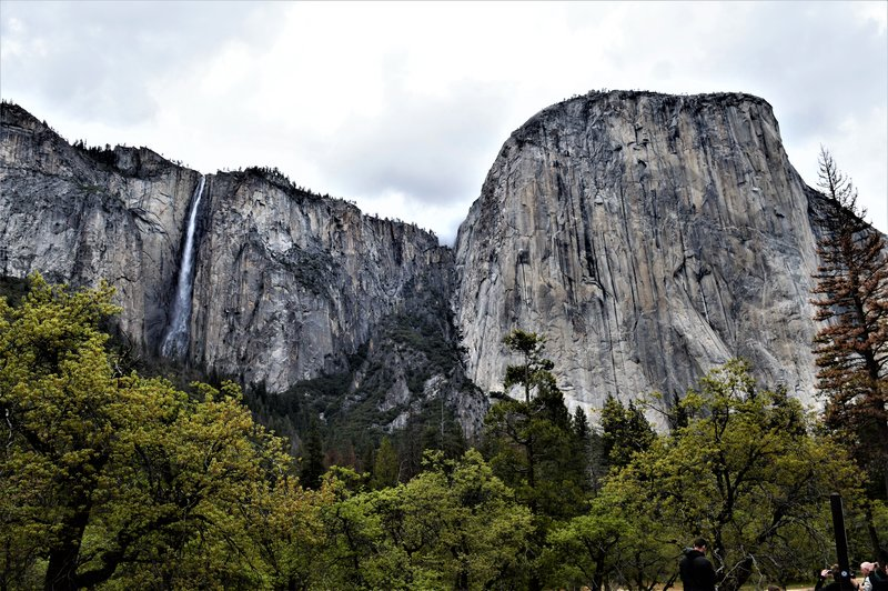 Ribbon Falls and El Capitan