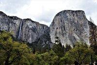 Ribbon Falls and El Capitan