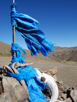 Gobi - Sacred Stone close to the Ice Valley