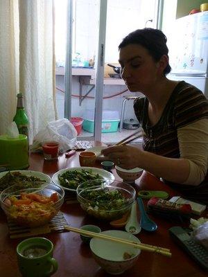 az első ebéd
