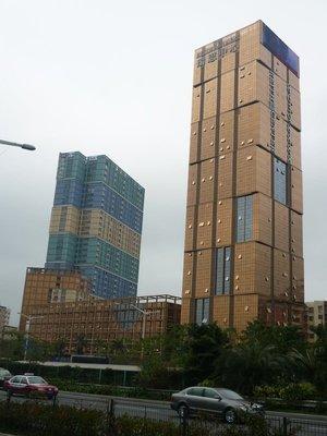 csúnya épületegyüttes Baishizhouban