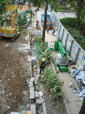 építkezés hk-i módra