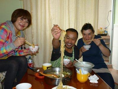 evészet mongol módra