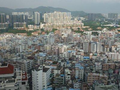 kilátás a harmincnegyedikről: s lőn Baishizhou