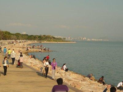 egy kis sencseni tengerpart